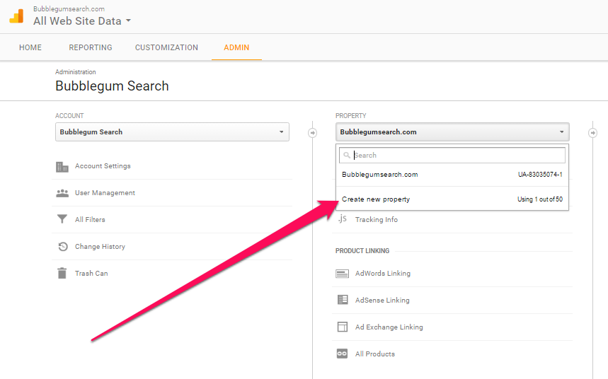 how to set up search console in google analytics