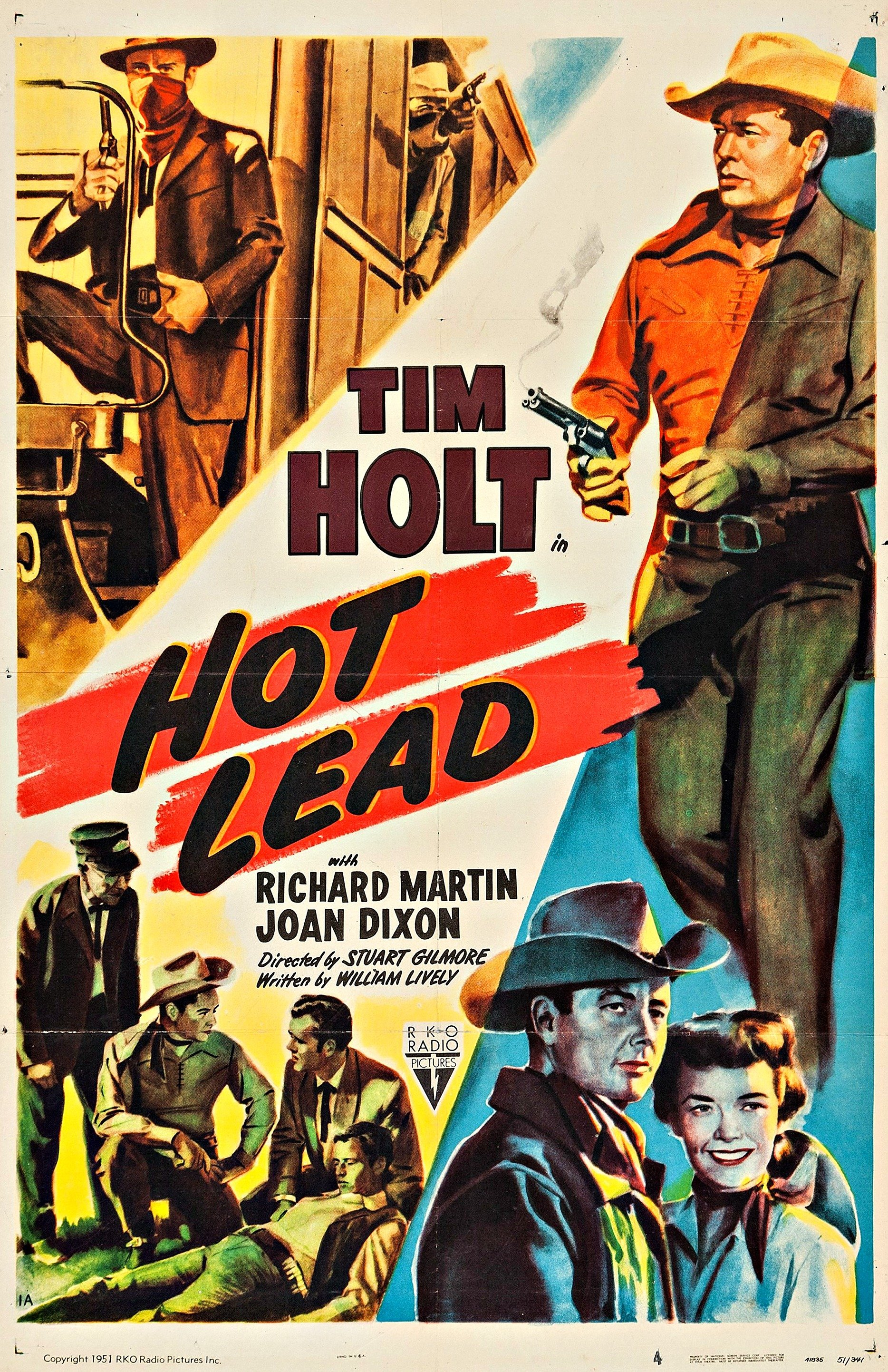 Hot Lead movie poster